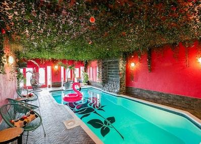 Chalets avec piscine intérieure