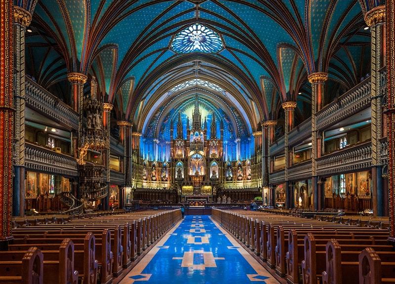 Basilique Notre-Dame de Montréal. Crédit photo : Alain Régimbald