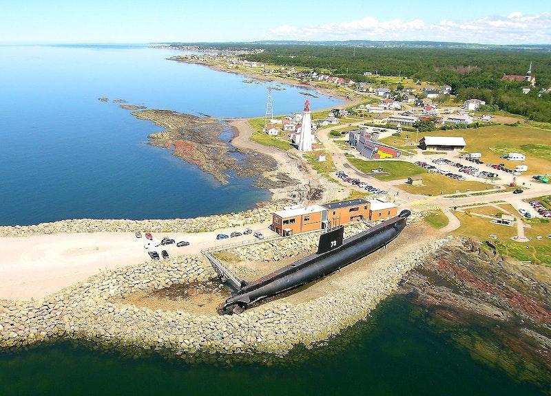 Site historique maritime de la Pointe-au-Père. Crédit photo : Sébastien Boulay