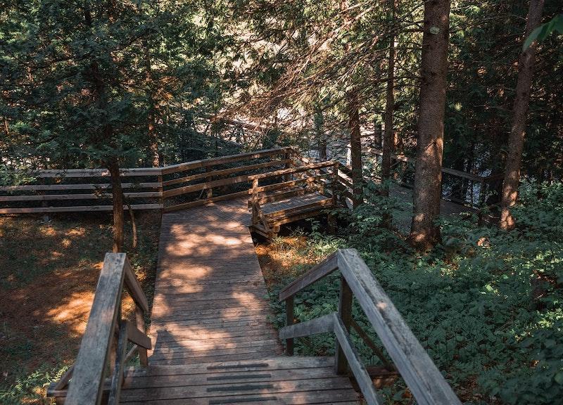 Le parc régional des Chutes Monte-à-Peine-et-des-Dalles. Crédit photo : Fabien Proulx-Tremblay