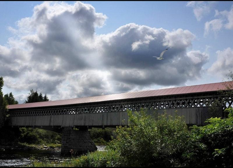Le Pont-couvert McVetty-McKenzie de Lingwick