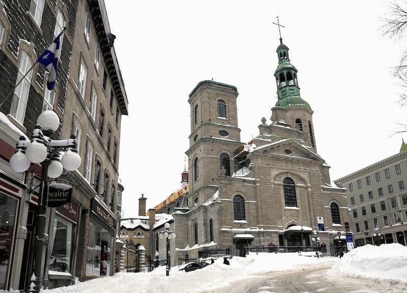 Basilique-cathédrale Notre-Dame-de-Québec. Crédit photo : Fonds Daniel Abel