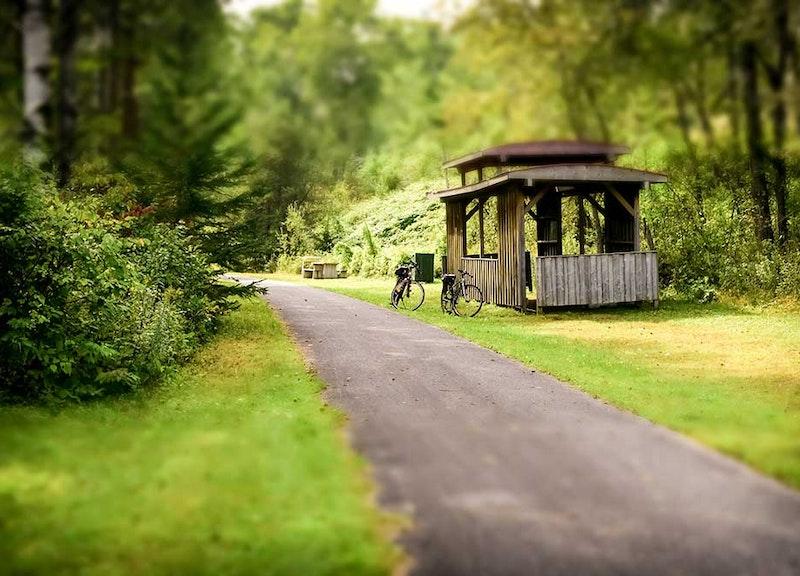 Le Parc linéaire Le P'tit Train du Nord