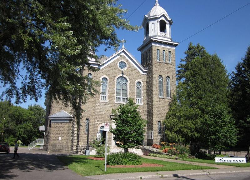 L'église Notre-Dame-de-la-Présentation de Shawinigan : Fralambert