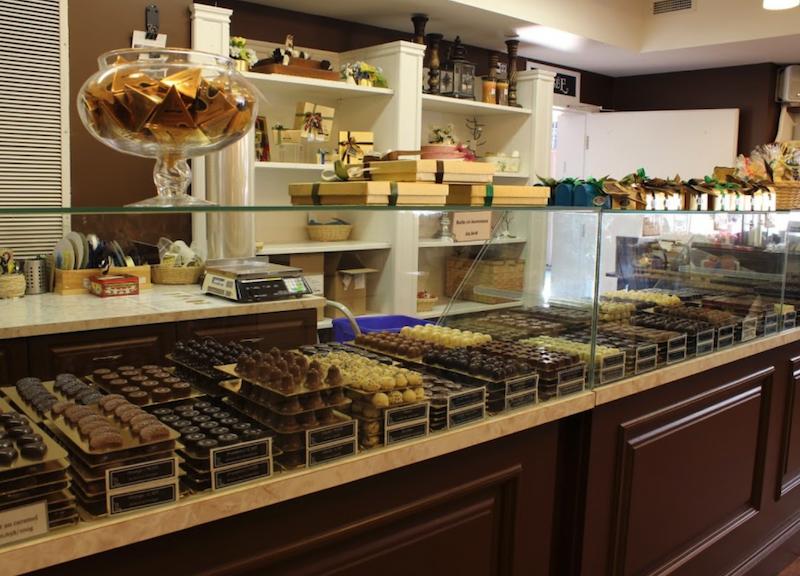 Chocolaterie la Cabosse d'Or : Martine St-Jean