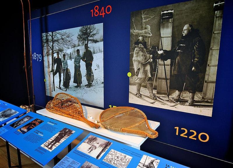 Le Musée du ski des Laurentides