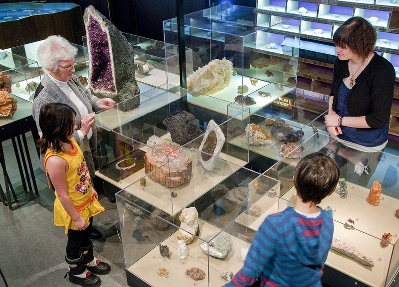 Le musée minéralogique de l'Abitibi-Témiscamingue