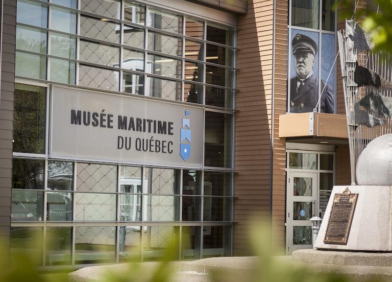 Musée maritime du Québec - Capitaine J.E. Bernier